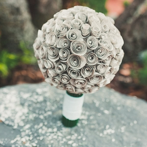Paper Flower Handmade Wedding Bouquet