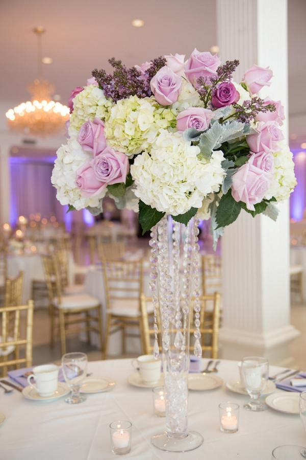 Elegant Purple, Lilac and Ivory Florida Wedding - Aisle Society