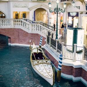 Las Vegas Venetian Wedding Gondola