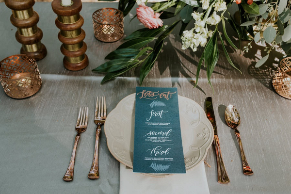 Eclectic place setting