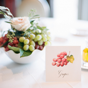 Fruit table names