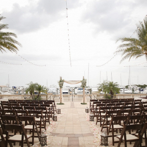 Waterside ceremony
