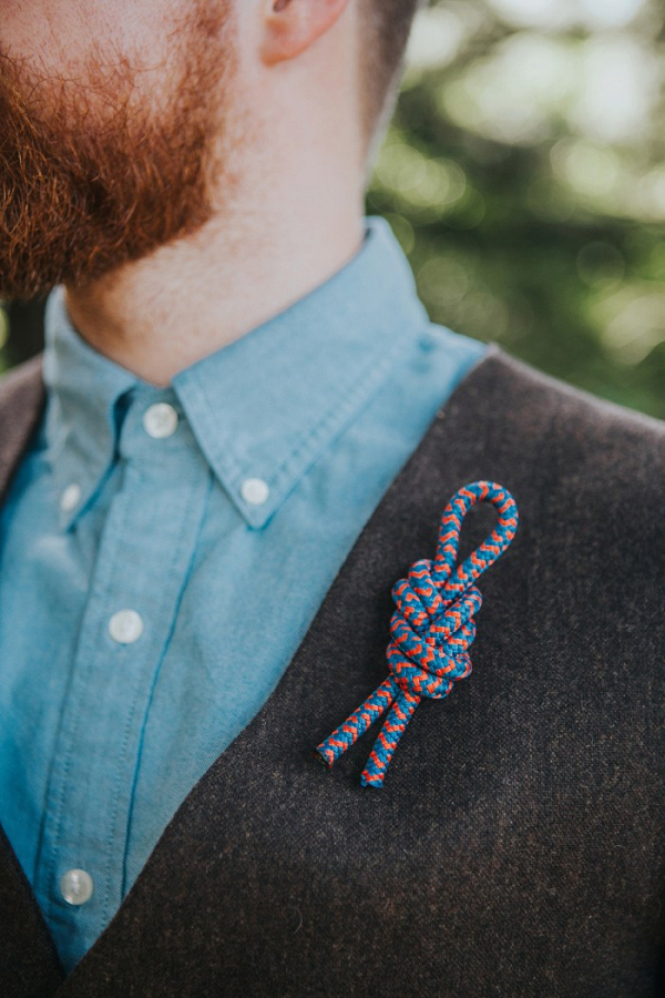 Rope boutonniere