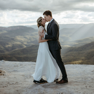 Amazing elopement at Australia's Blue Mountains