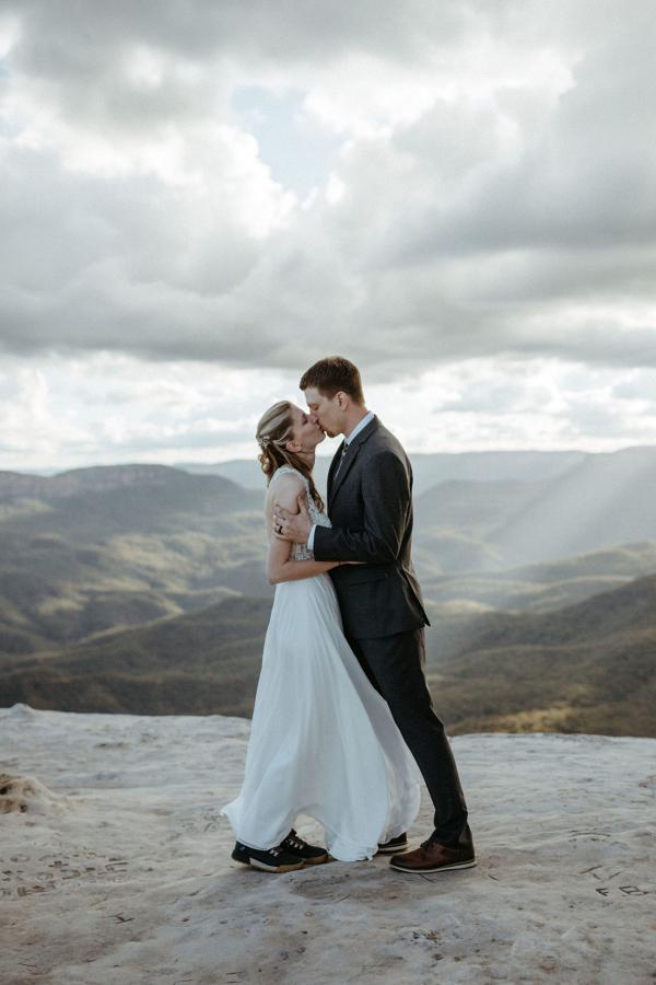 Amazing elopement at Australia's Blue Mountains