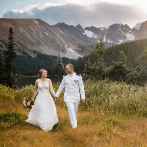 Intimate Rocky Mountain Elopement