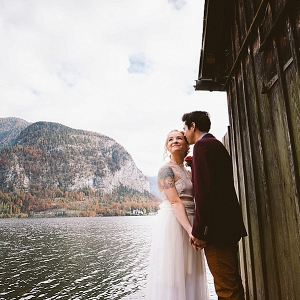 Austrian elopement Mountainside Bride
