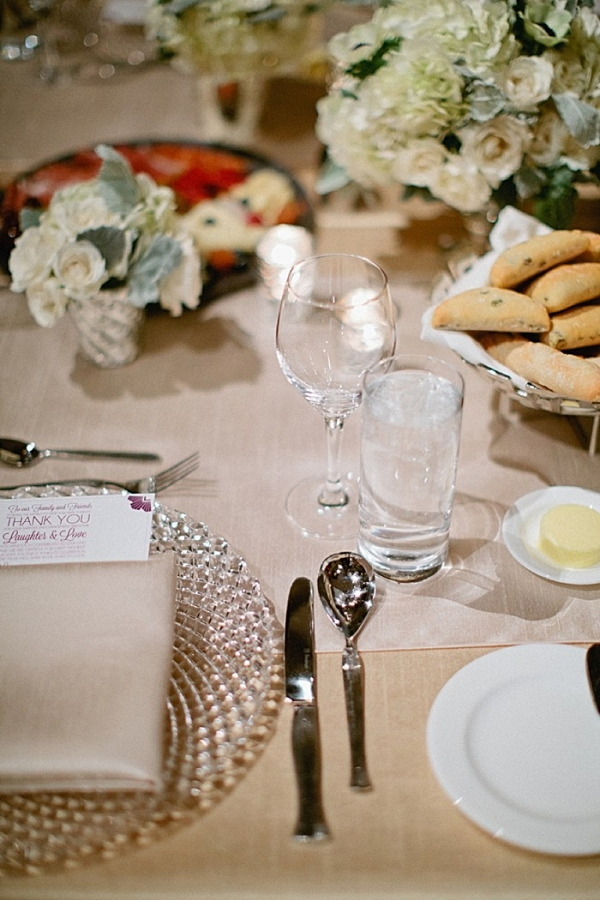 Winter tablescape | Black Tie Vail Wedding
