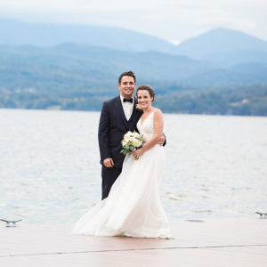 Lake Champlain wedding