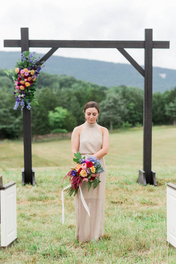 Farm mountain wedding inspiration
