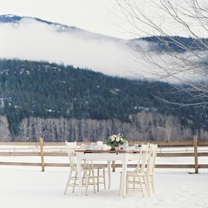 Winter Wedding Inspiration with Vintage Details | Christie Graham Photography