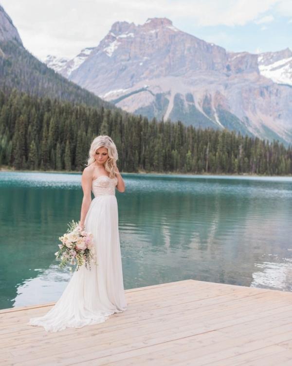 Ethereal Bride at Emerald Lake