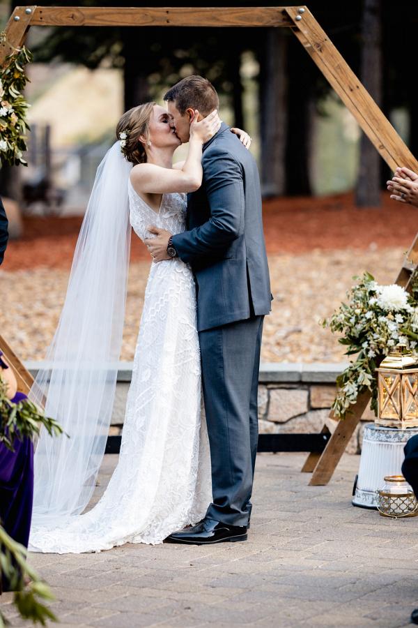 Elegant Lake Tahoe wedding