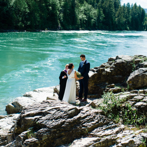 Glacier National Park wedding elopement