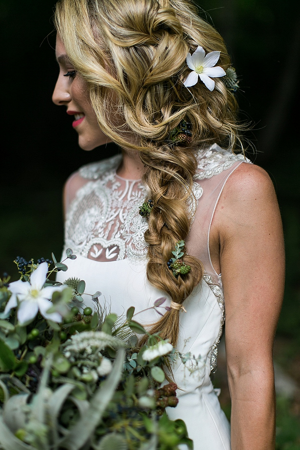 Bride with braid