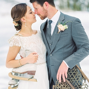 Mammoth Lakes winter wedding inspiration on Mountainside Bride