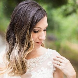 long hair style | California Winter Wedding Inspiration