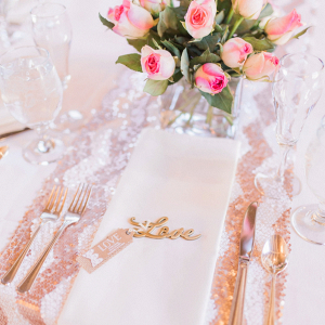 Love place setting