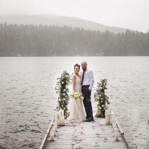 Romantic and Elegant Lake side Elopement