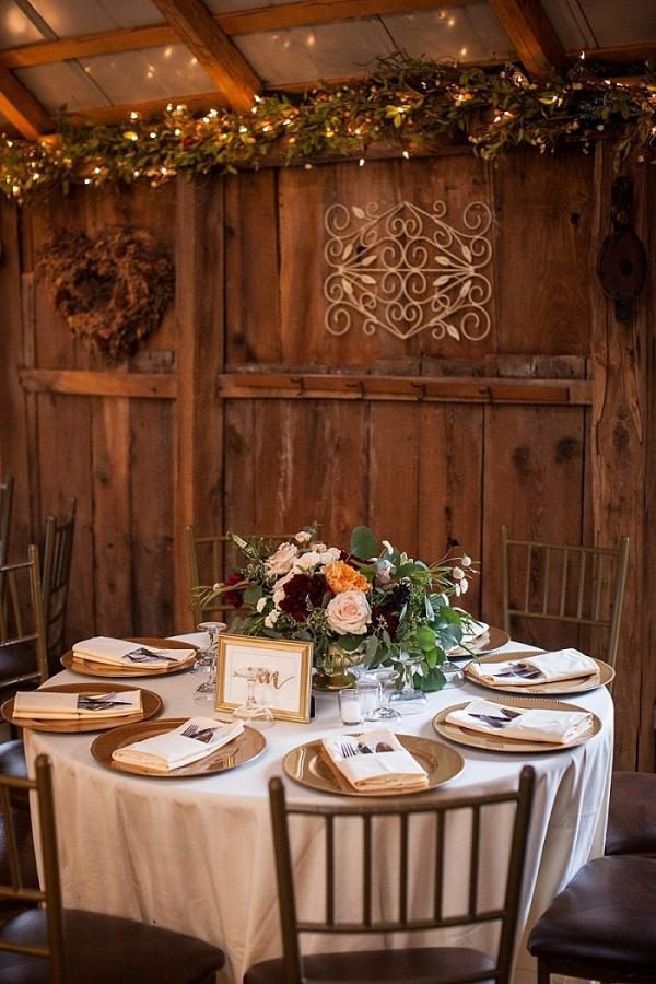 Elegant wedding at Chanteclaire Farm
