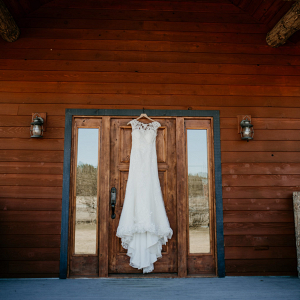 A rustic Glacier National Park elopement lodge