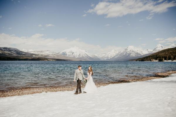 Glacier National Park wedding elopement