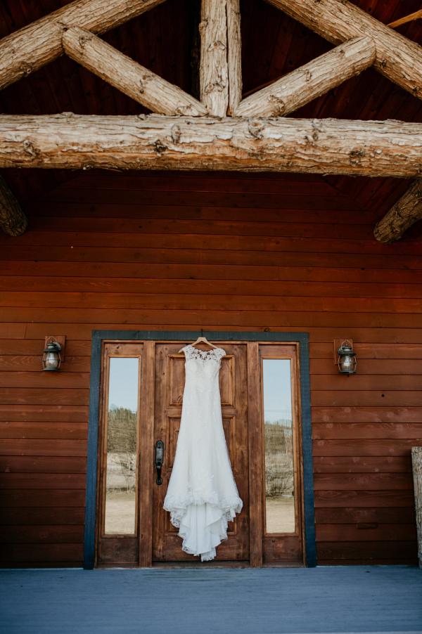A rustic Glacier National Park elopement lodge