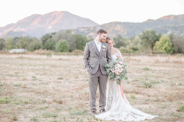 Romantic Napa Valley editorial inspired by Tuscany