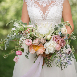 Oversized bouquet