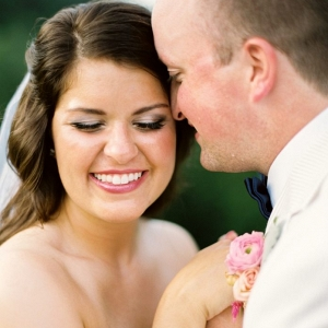 Mountain Bride and groom at Butterfly Gap in Maryville Tennessee