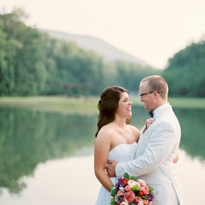 Bridal Portraits by the Lake