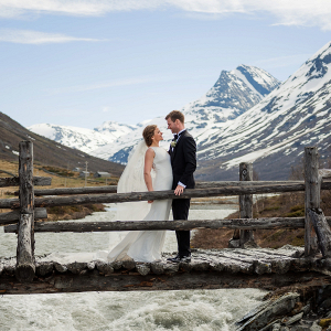Norway mountain wedding