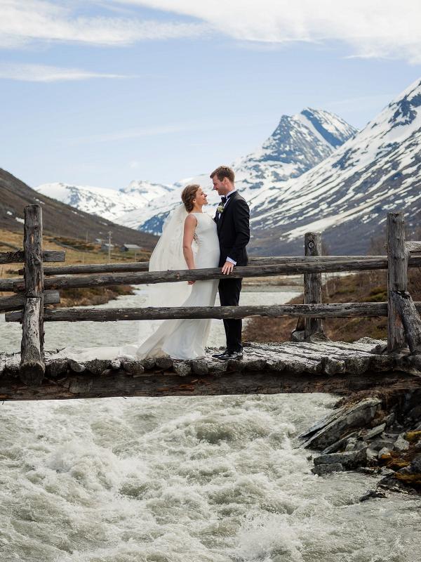 Norway mountain wedding