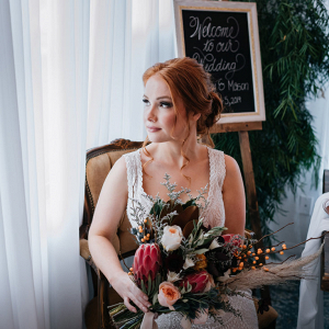 Warm and rich bridal elopement inspiration
