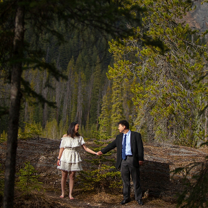 Yoho National Park engagement session