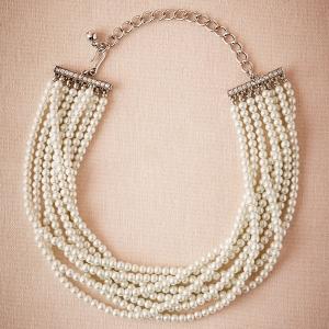 bhldn Victoria Vintage Inspired Pearl Choker