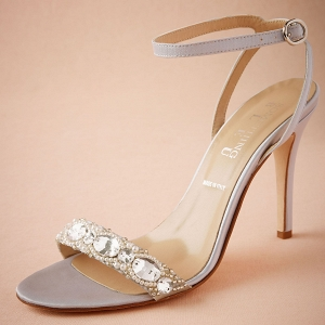 BHLDN Charlize Satin Sandal
