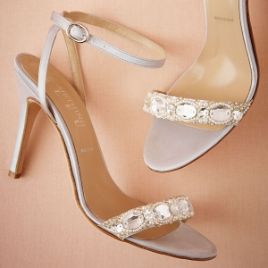 BHLDN Charlize Satin Sandals