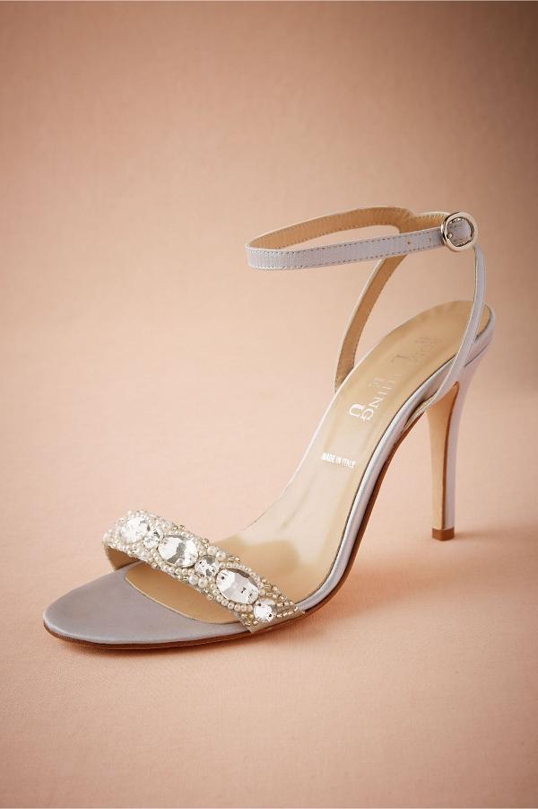 BHLDN Charlize Satin Sandal