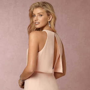 BHLDN Split Back Bridesmaid Dress