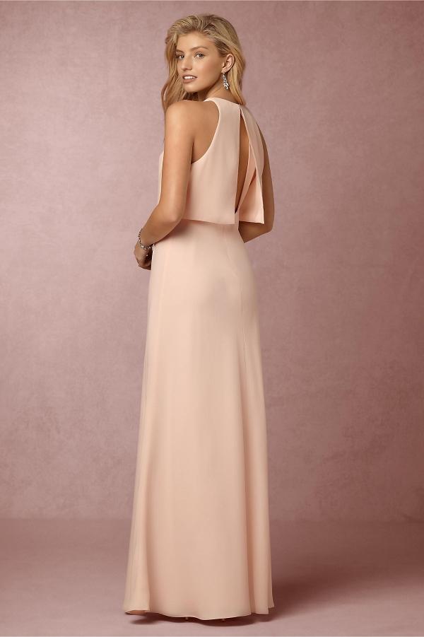 BHLDN Split Back Bridesmaid Dress