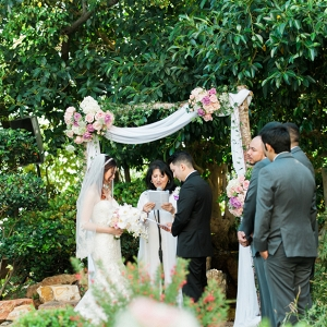 Downtown Los Angeles garden wedding