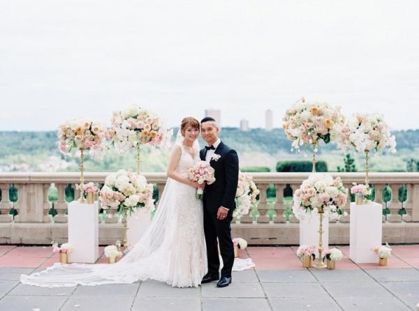 Rooftop Edmonton wedding