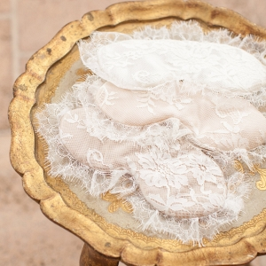 Lace and Silk Bridal Sleep Mask