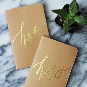 Personalized Vow Books