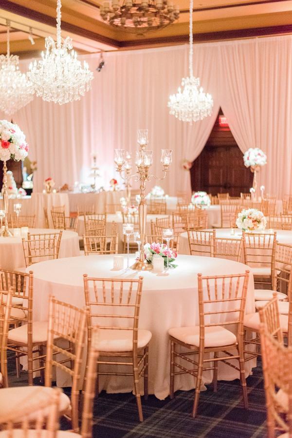 Classic ballroom reception