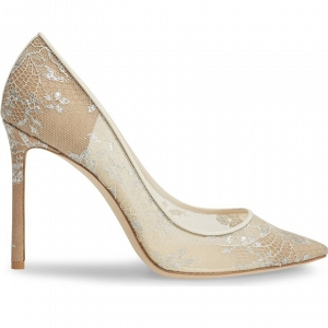 Jimmy Choo Romy Lace Pumps