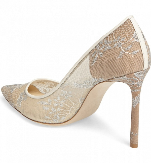 Jimmy Choo 'Romy' Lace Pumps