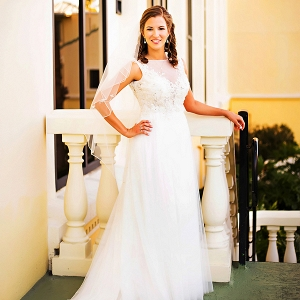 Elegant Maggie Sottero wedding dress