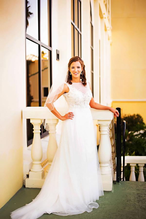 Elegant Maggie Sottero wedding dress